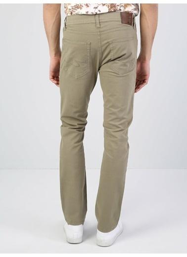 Colin's 044 Slim Fit Yüksek Bel Düz Paça Erkek Pantolon İndigo